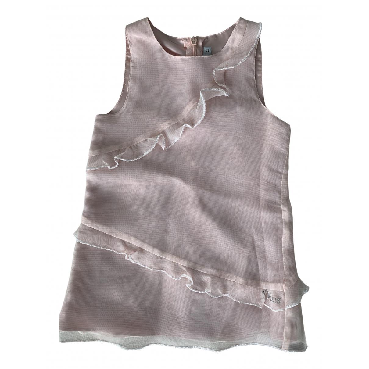 Baby Dior \N Kleid in  Rosa Polyester