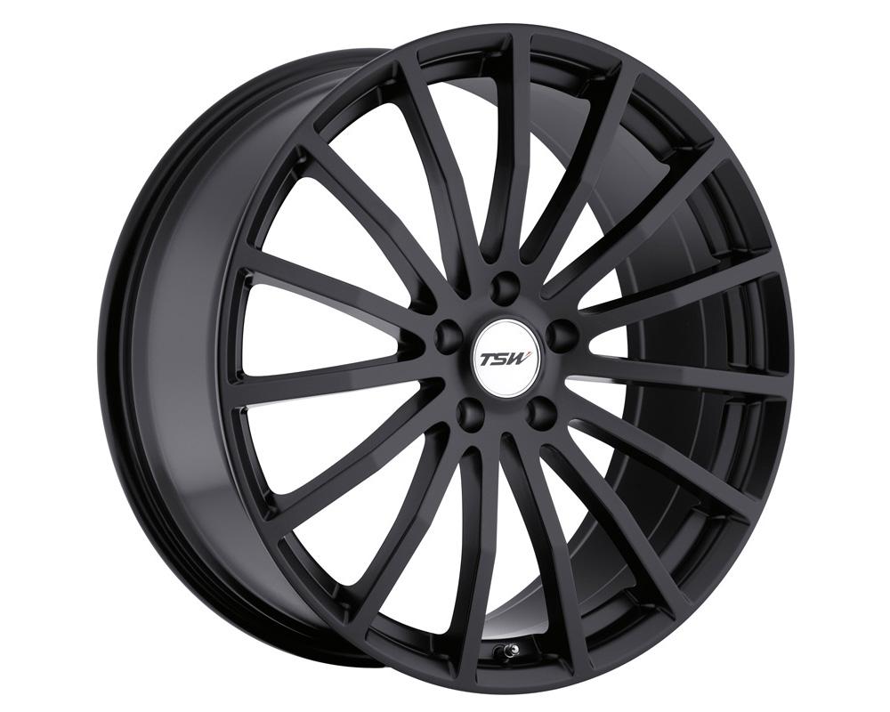 TSW Mallory Wheel 18x8 5x100 35mm Matte Black
