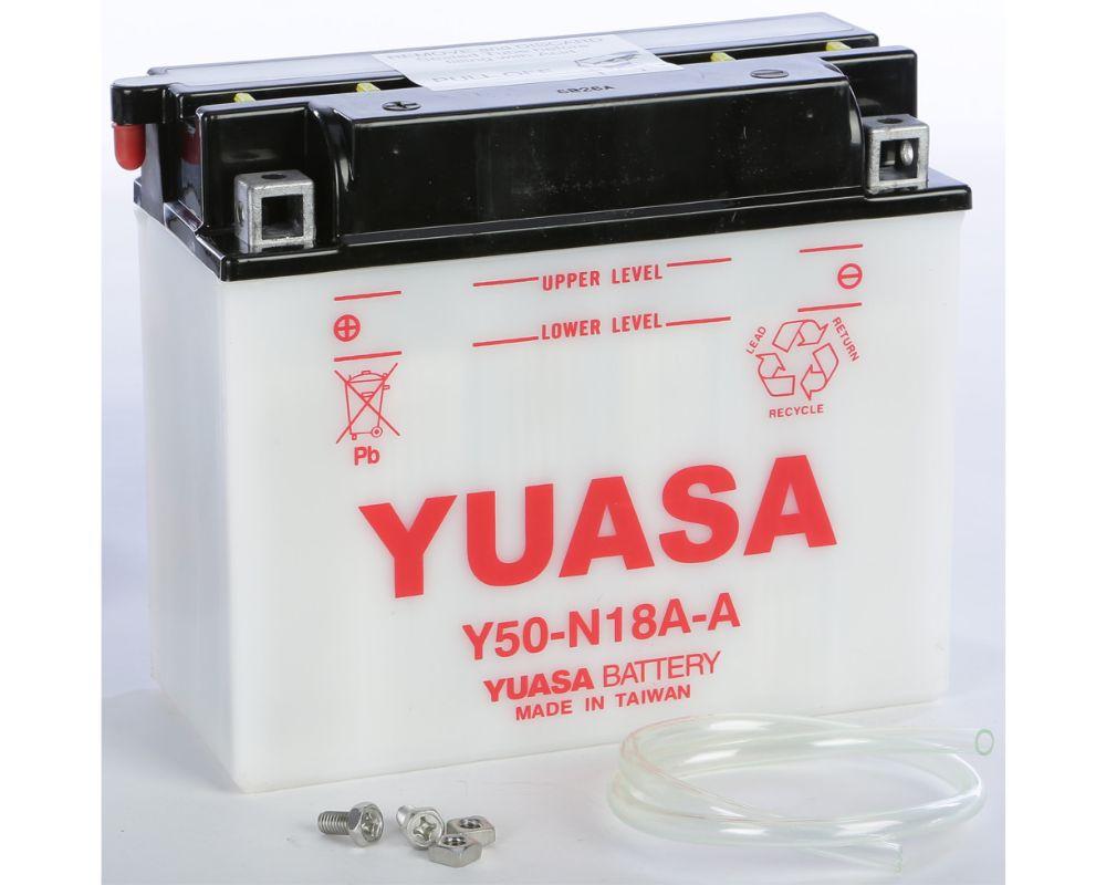 Yuasa YUAM228AY Conventional Y50-N18A-A Battery