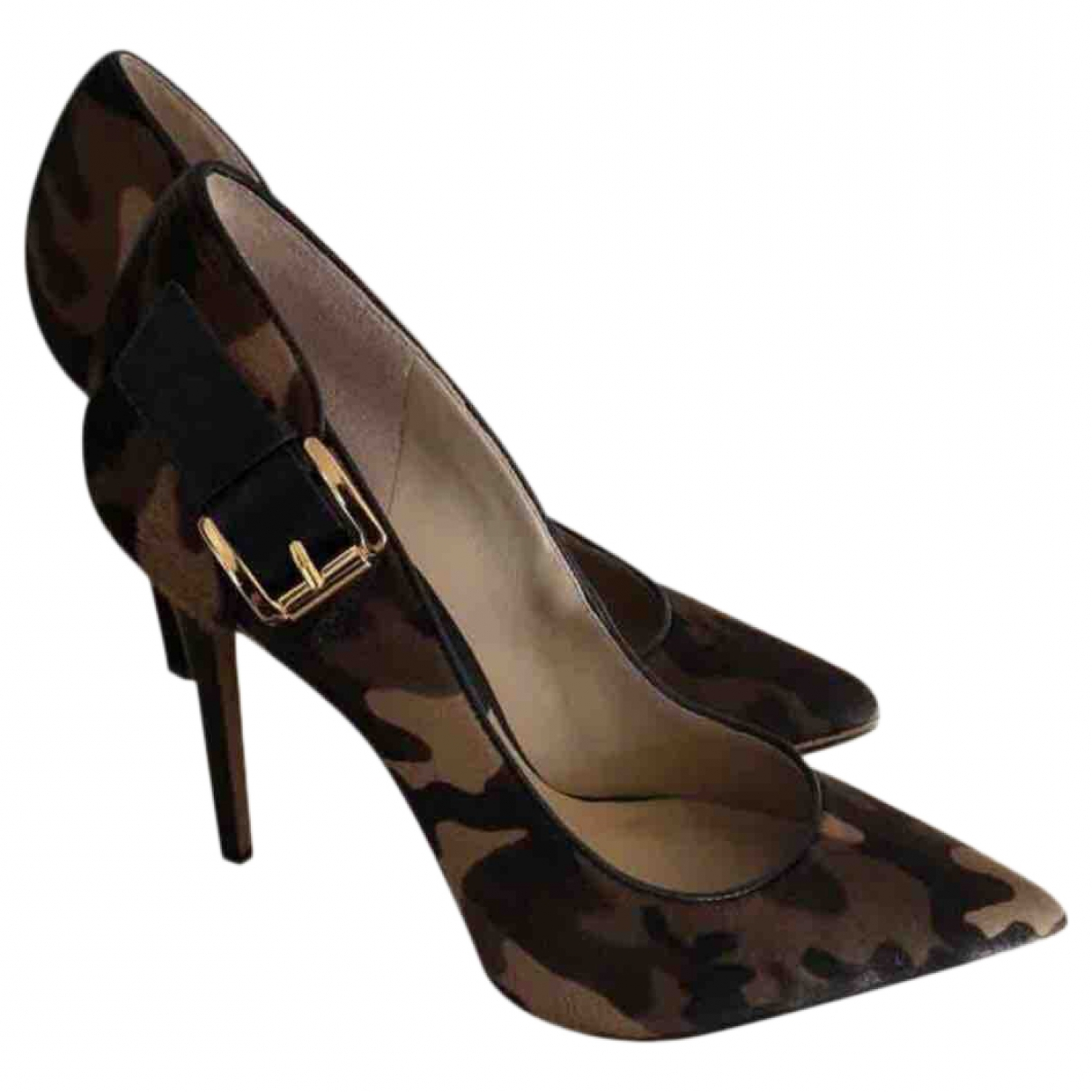 Michael Kors \N Pumps in  Bunt Kalbsleder in Pony-Optik