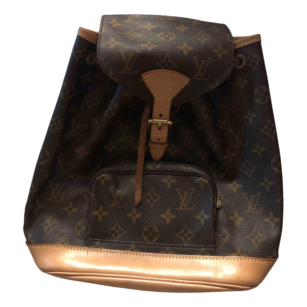 Louis Vuitton Montsouris Multicolour Cloth backpack for Women \N