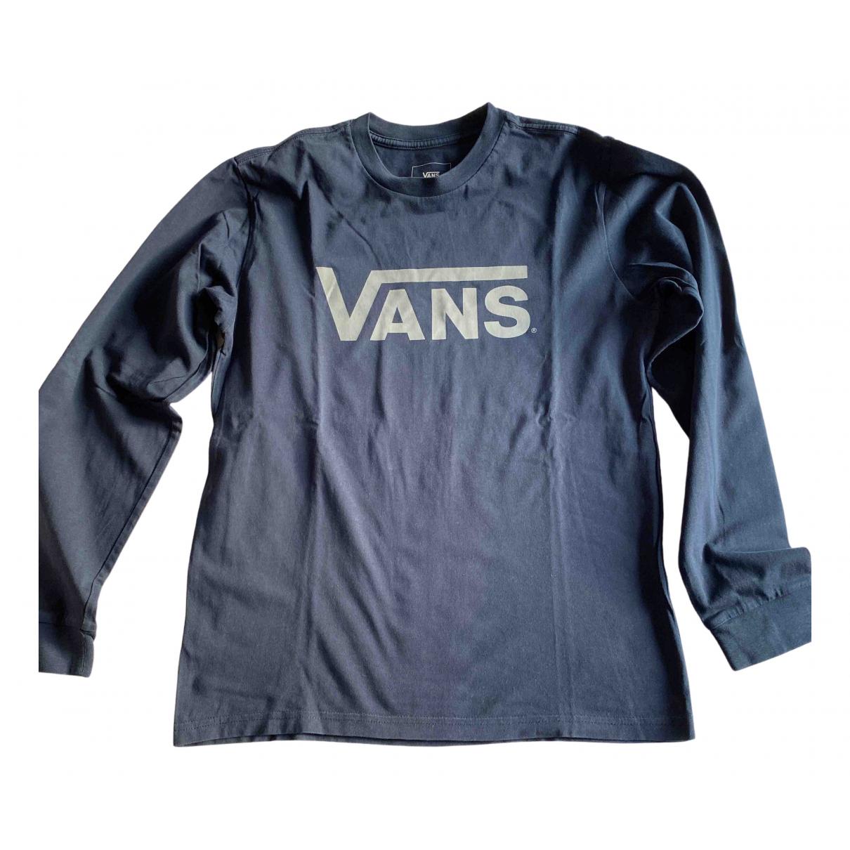 Vans - Top   pour enfant en coton - bleu