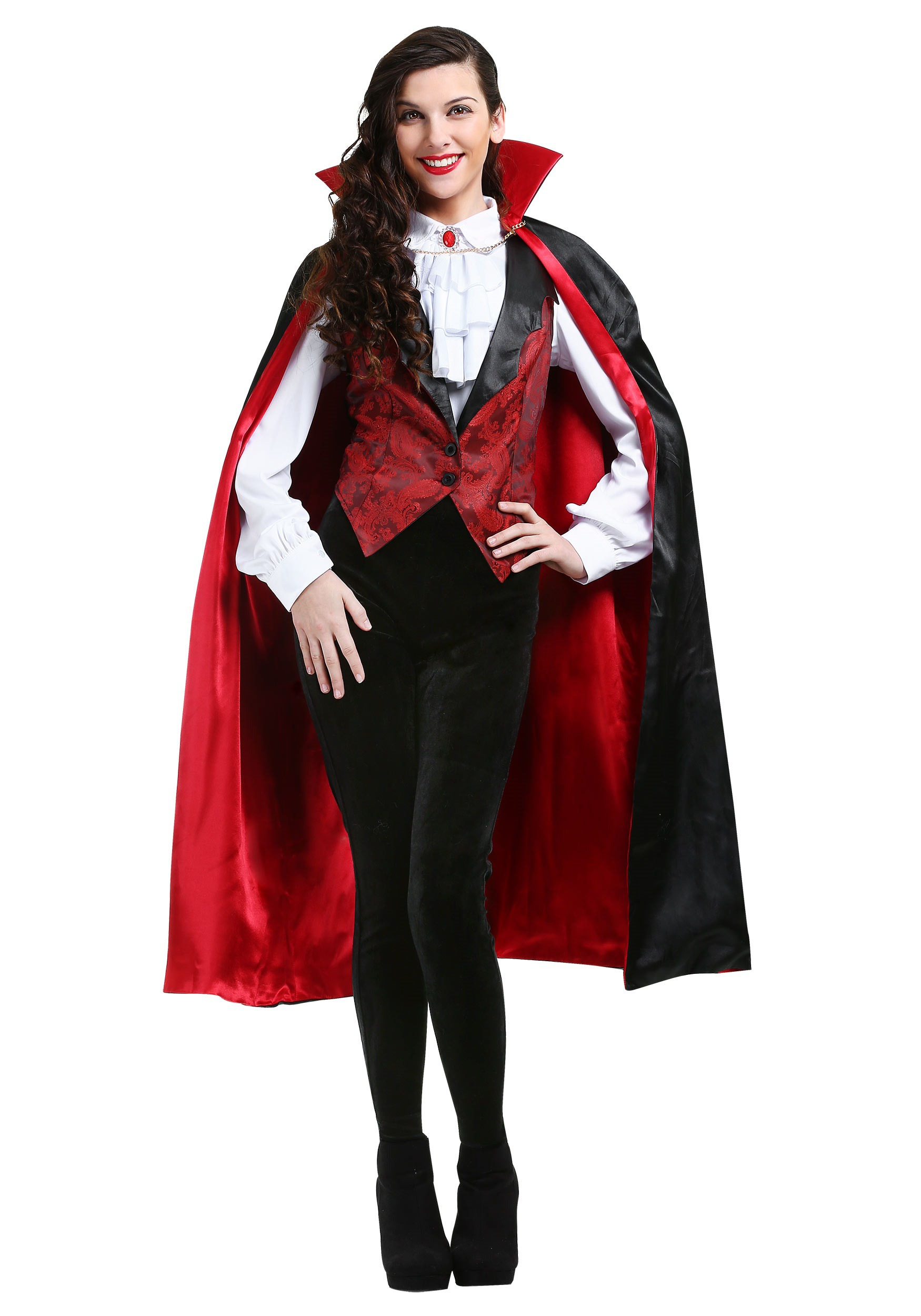Plus Size Womens Fierce Vamp Costume
