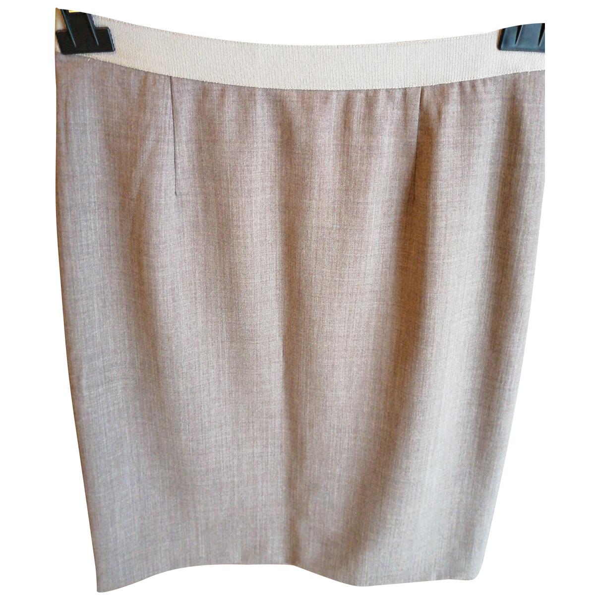 Fabiana Filippi N Brown Wool skirt for Women 42 FR