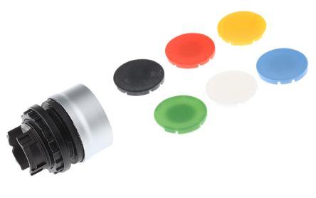 Eaton Round Push Button Head - Momentary, M22 Series, 22mm Cutout, Round