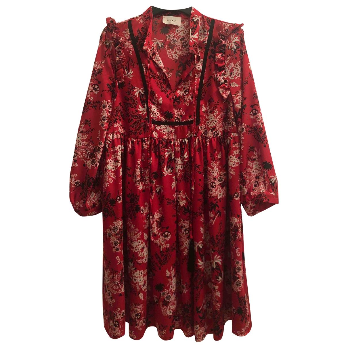 Vicolo - Robe   pour femme - rouge