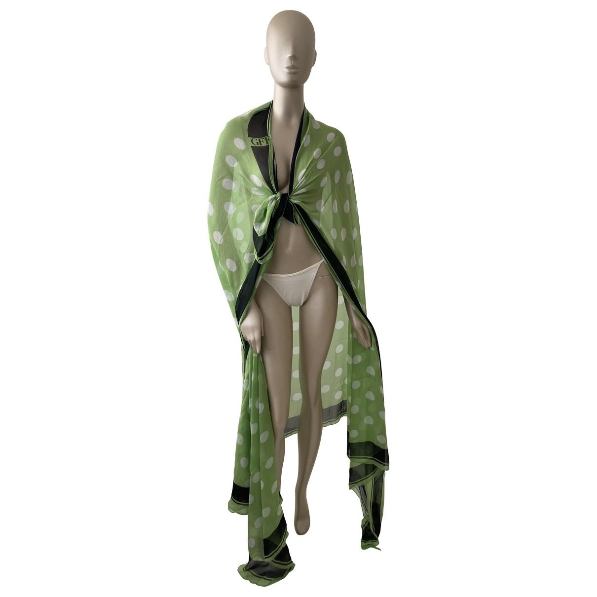 Gianfranco Ferré \N Green Silk scarf for Women \N