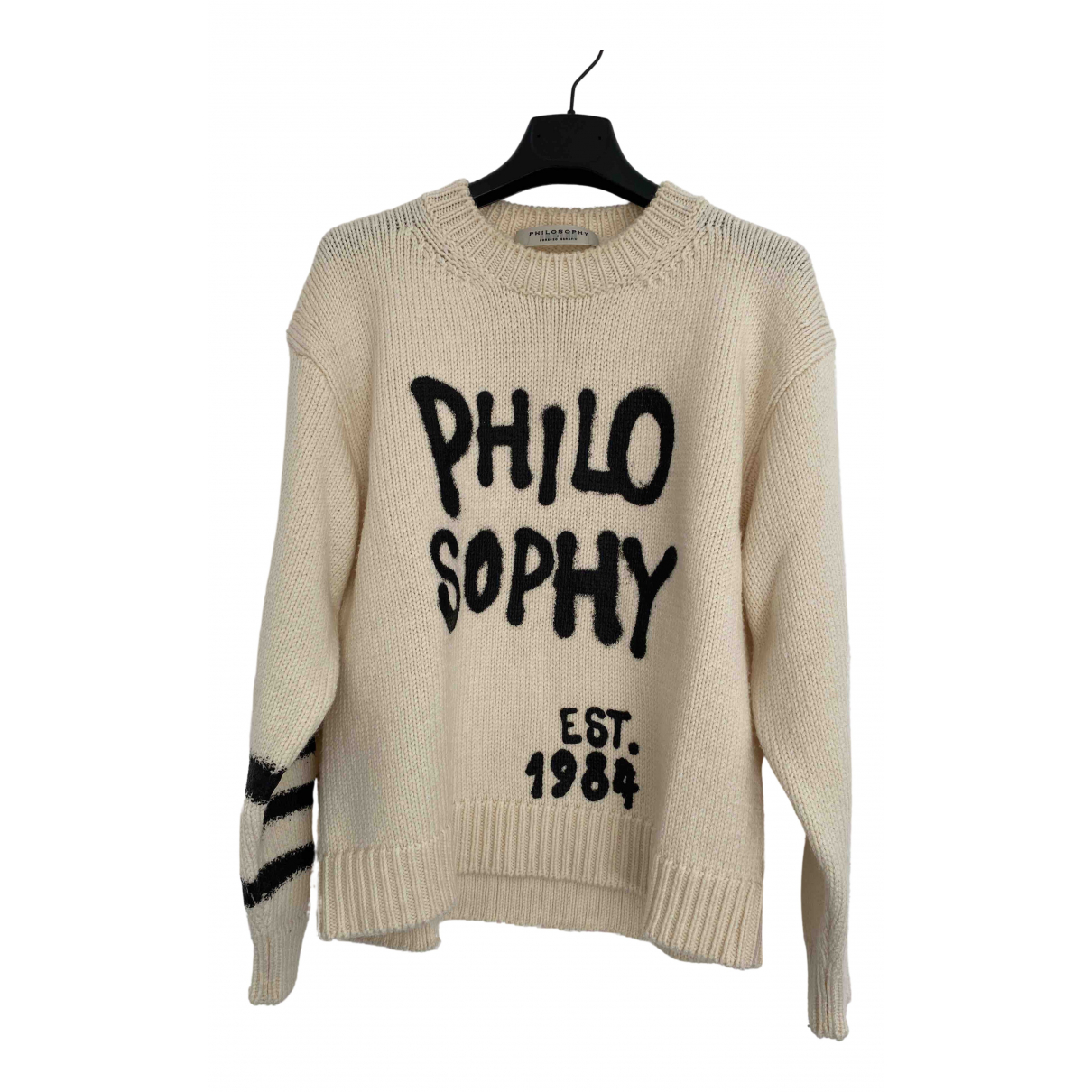 Philosophy Di Lorenzo Serafini \N Pullover in  Beige Wolle