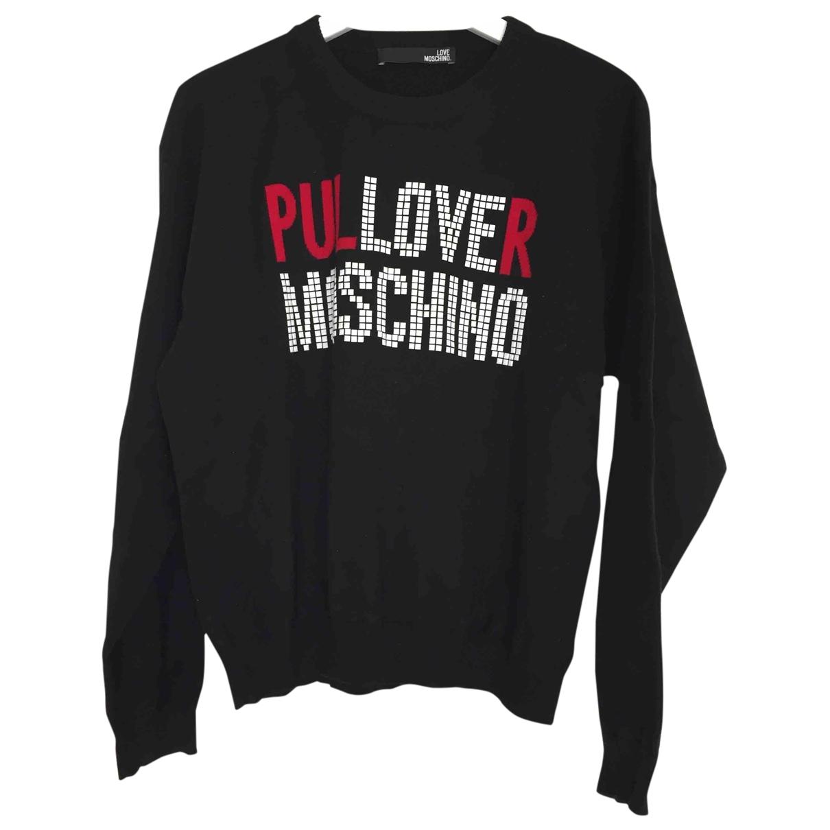 Moschino Love \N Black Cotton Knitwear for Women 46 IT