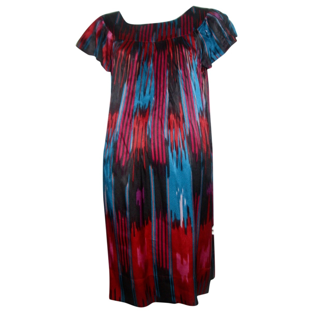 French Connection \N Multicolour Silk dress for Women 12 UK