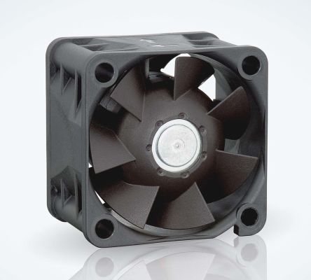 ebm-papst , 24 V dc, DC Axial Fan, 40 x 40 x 28mm, 38m³/h, 6.9W, IP20