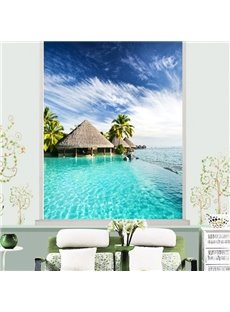 The House on the Sea Printing 3D Roller Shades