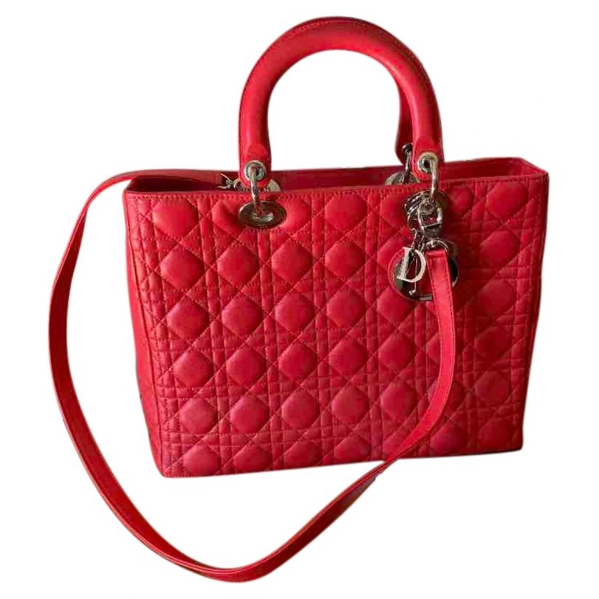 Dior - Sac a main Lady Dior pour femme en cuir