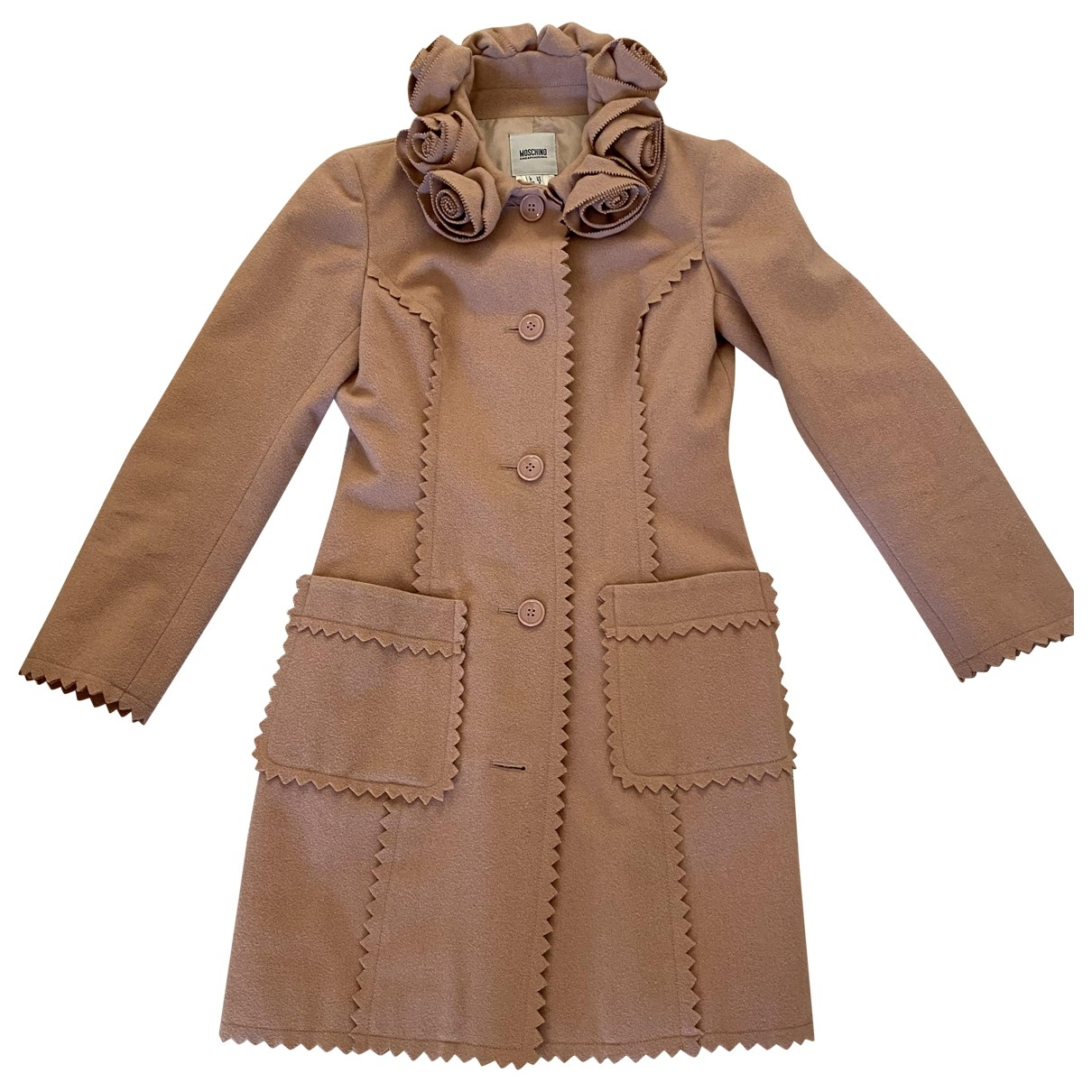 Moschino Cheap And Chic \N Pink Wool coat for Women 40 IT