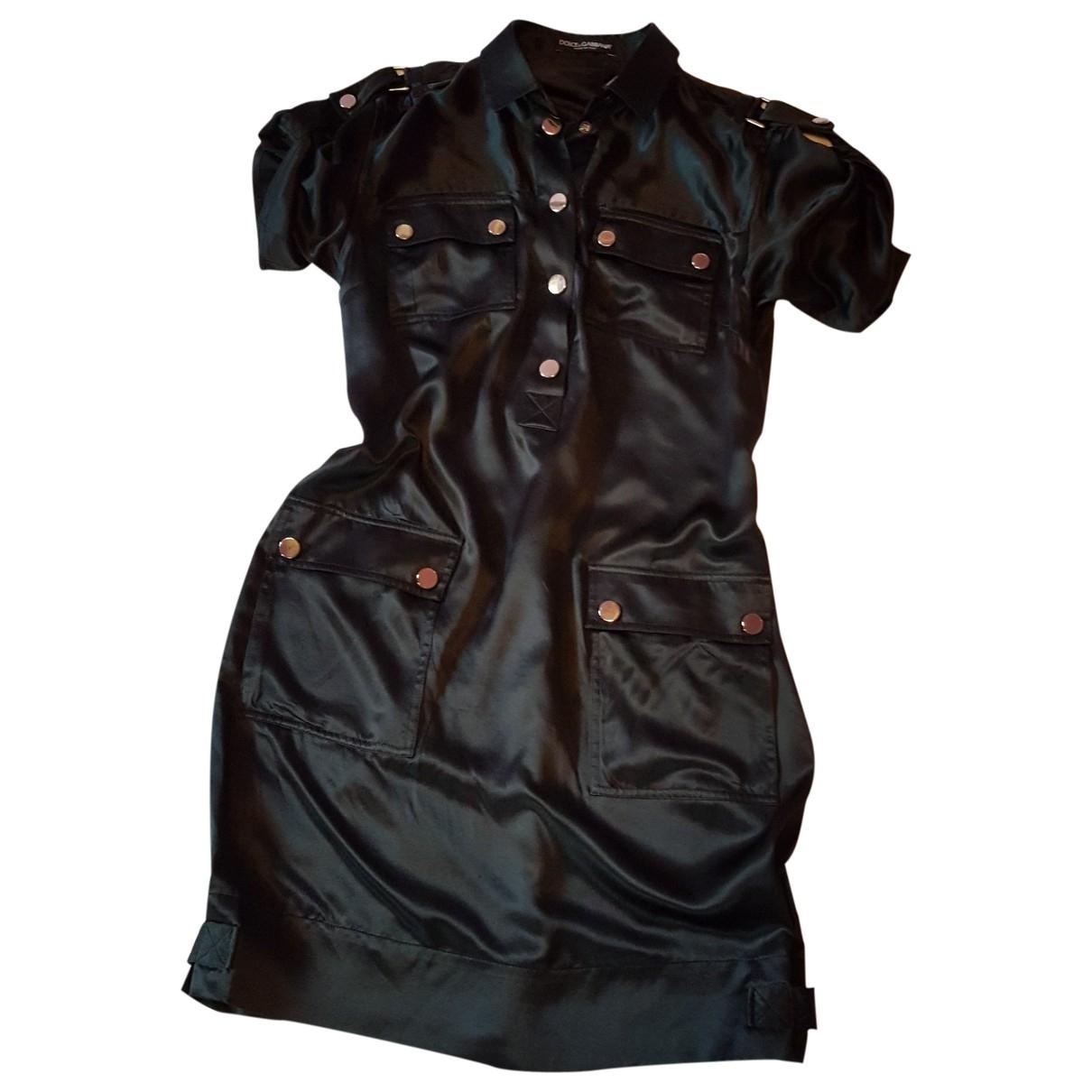 Dolce & Gabbana \N Black dress for Women 42 IT