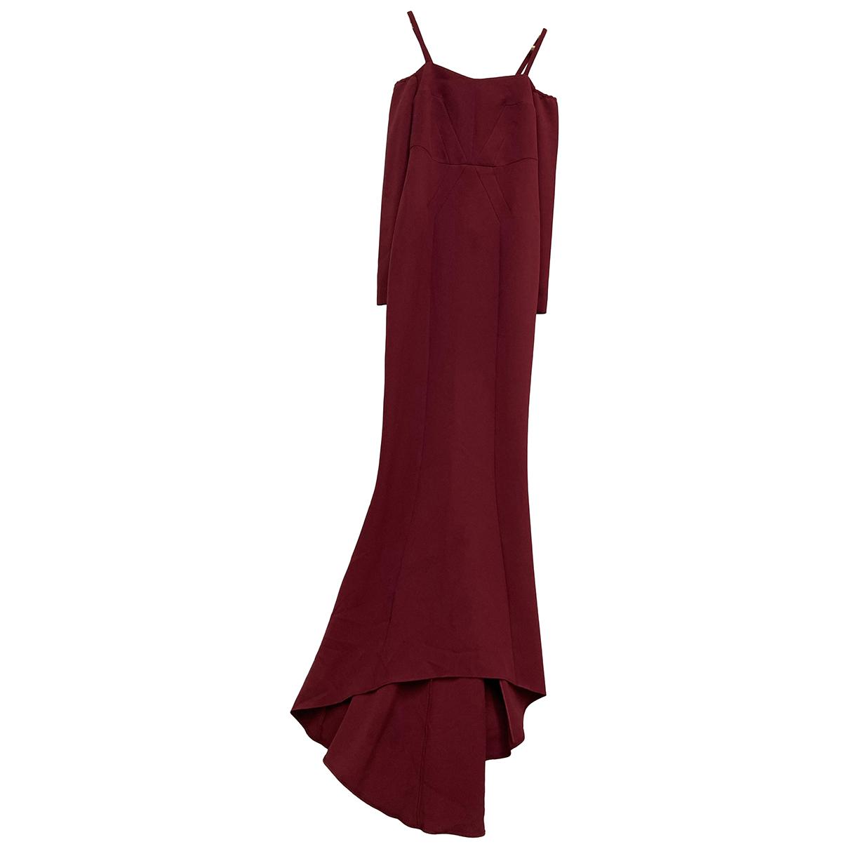 Safiyaa \N Kleid in  Rot Polyester