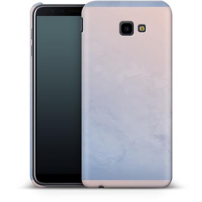 Samsung Galaxy J4 Plus Smartphone Huelle - Serenity Rose Quartz Geometry von Emanuela Carratoni