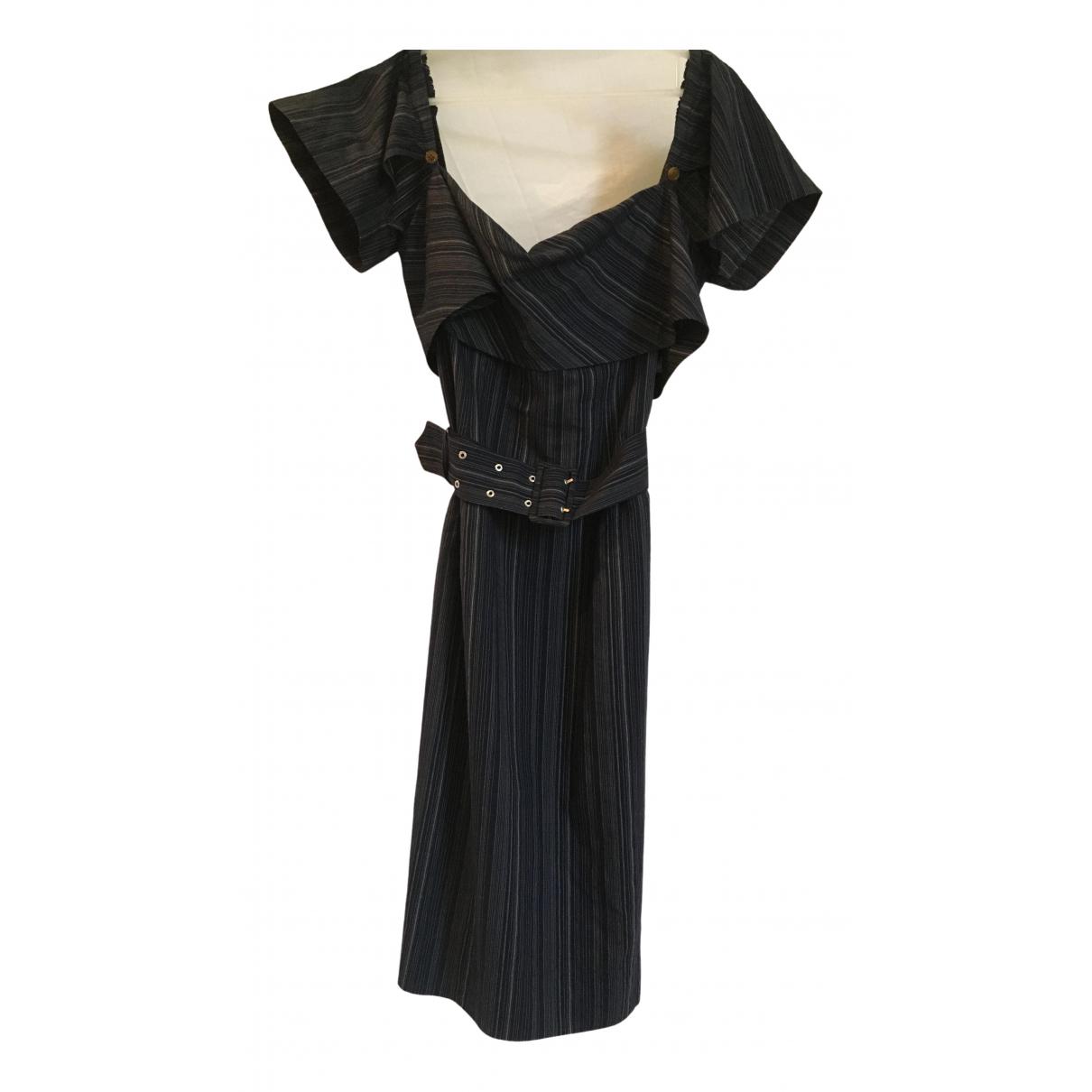 Vivienne Westwood Red Label \N Kleid in  Marine Baumwolle