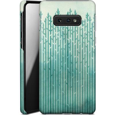 Samsung Galaxy S10e Smartphone Huelle - Misty Morning von Little Clyde
