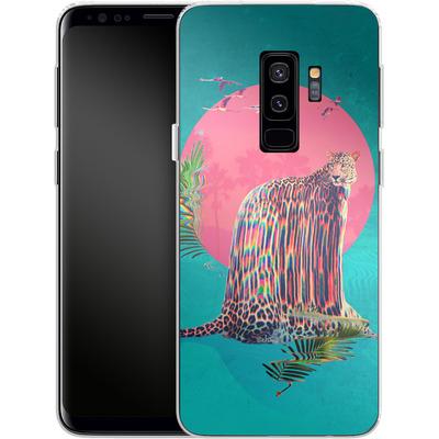 Samsung Galaxy S9 Plus Silikon Handyhuelle - Jaguar von Ali Gulec