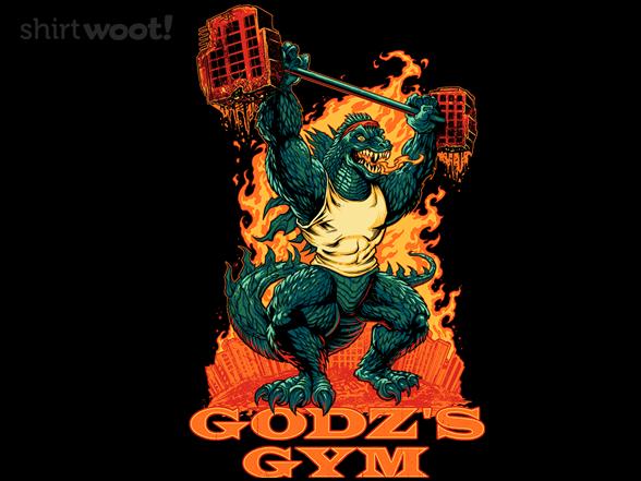 Godz Gym T Shirt