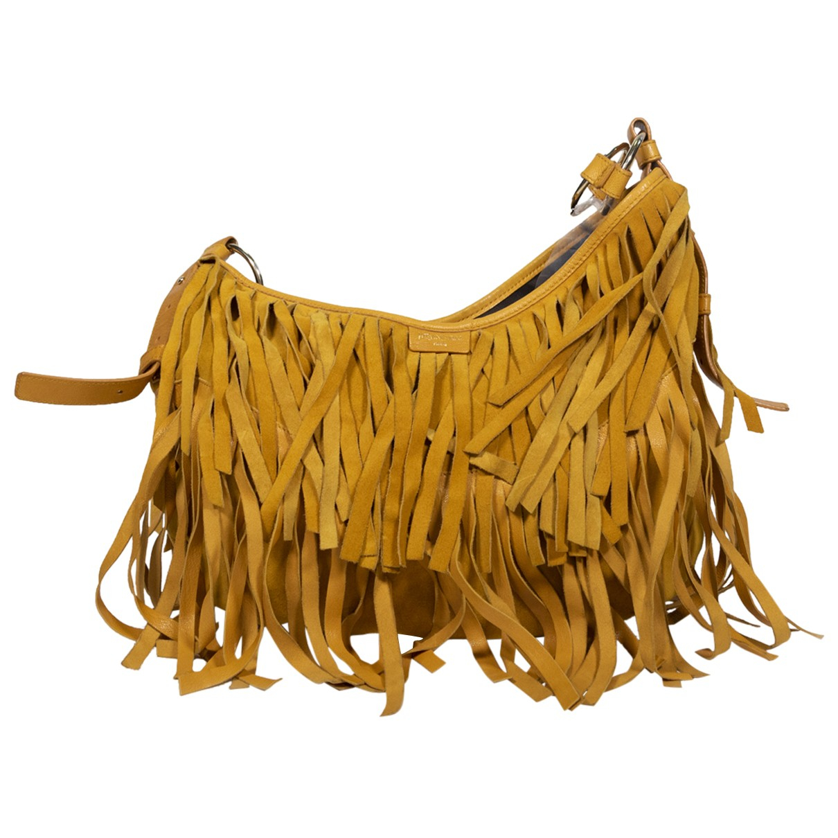 Yves Saint Laurent \N Handtasche in  Gelb Leder