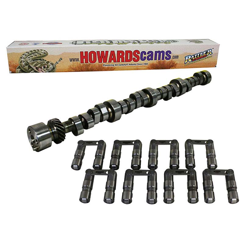 Hydraulic Roller Big Daddy Rattler Camshaft & Lifter Kit; 1959 - 1980 Chrysler 383-440 2400 to 6200 Howards Cams CL728085-09 CL728085-09