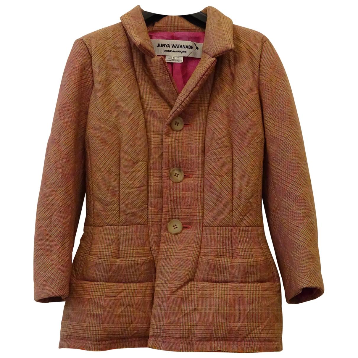 Comme Des Garcons \N Brown Wool coat for Women M International