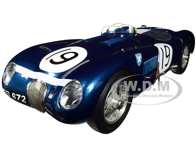 Jaguar C-Type 19 Ian Stewart / Ninian Sandersson