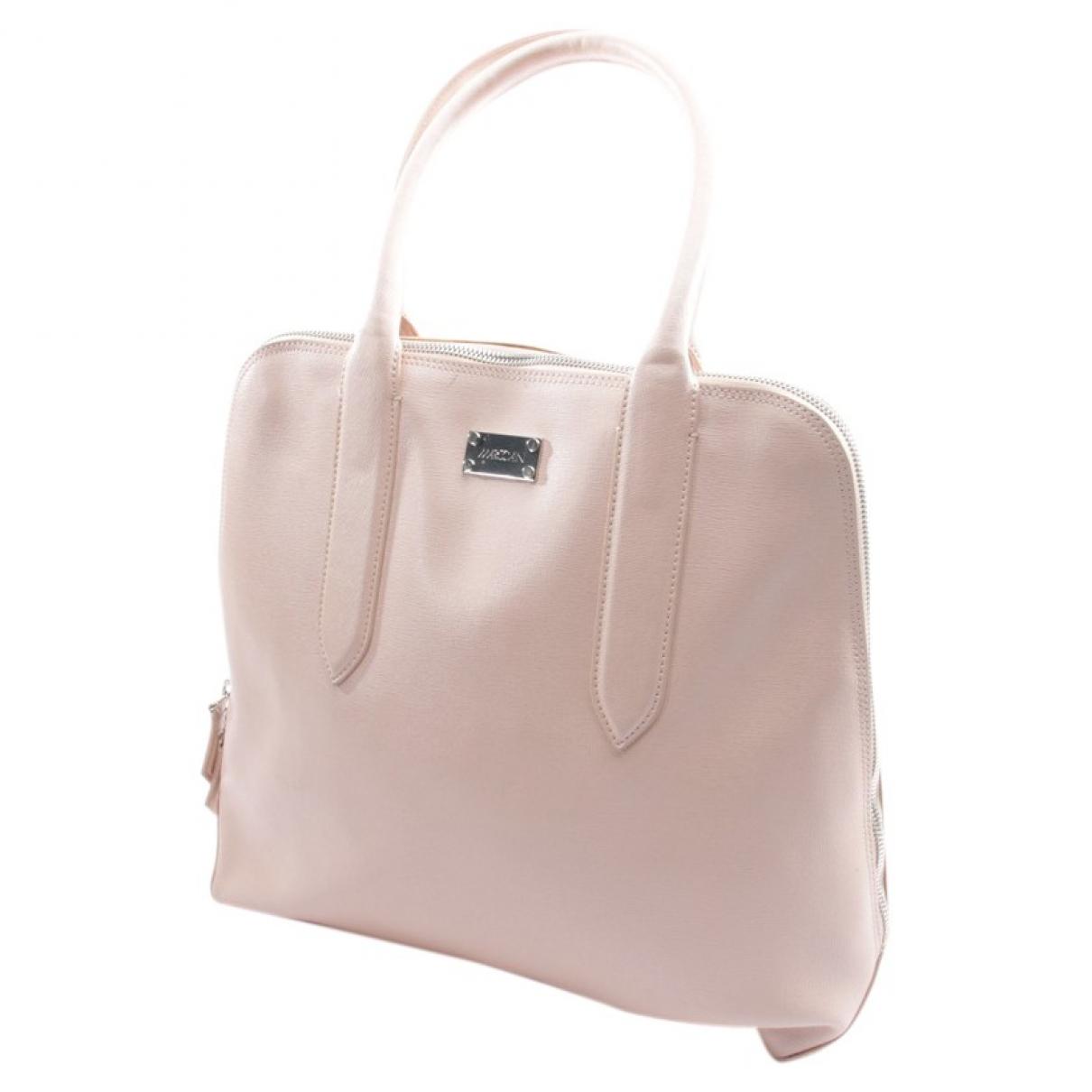 Marc Cain \N Pink Leather handbag for Women \N