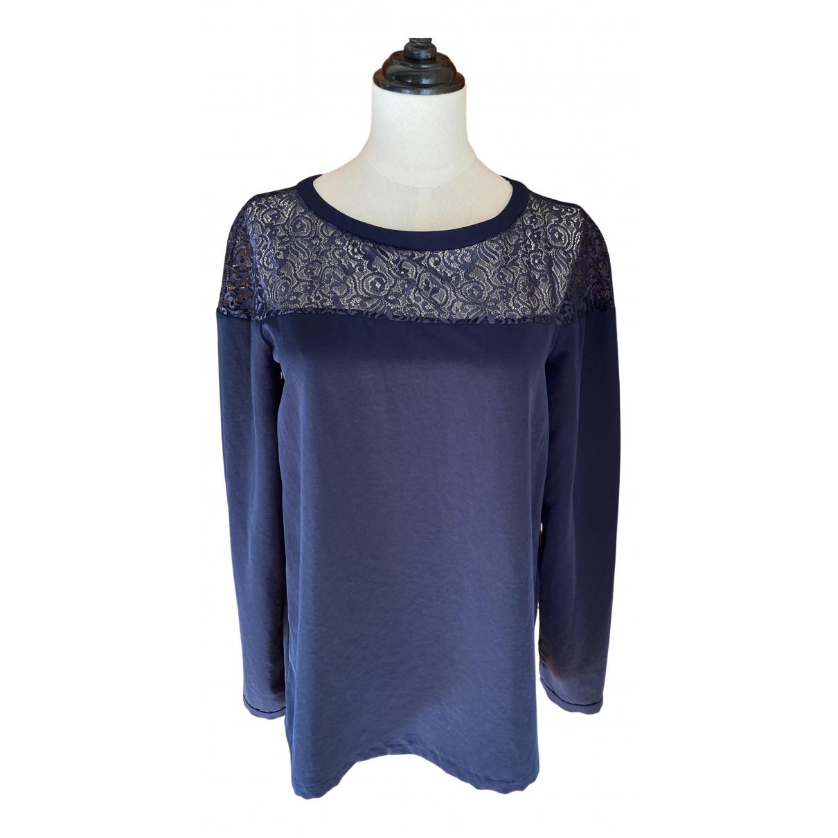 Comptoir Des Cotonniers - Top   pour femme - bleu