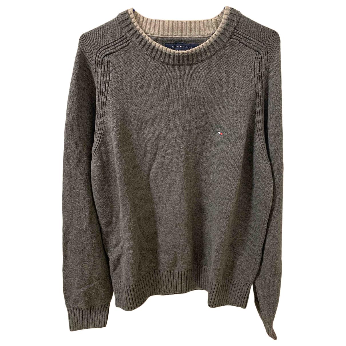 Tommy Hilfiger N Grey Cotton Knitwear & Sweatshirts for Men M International