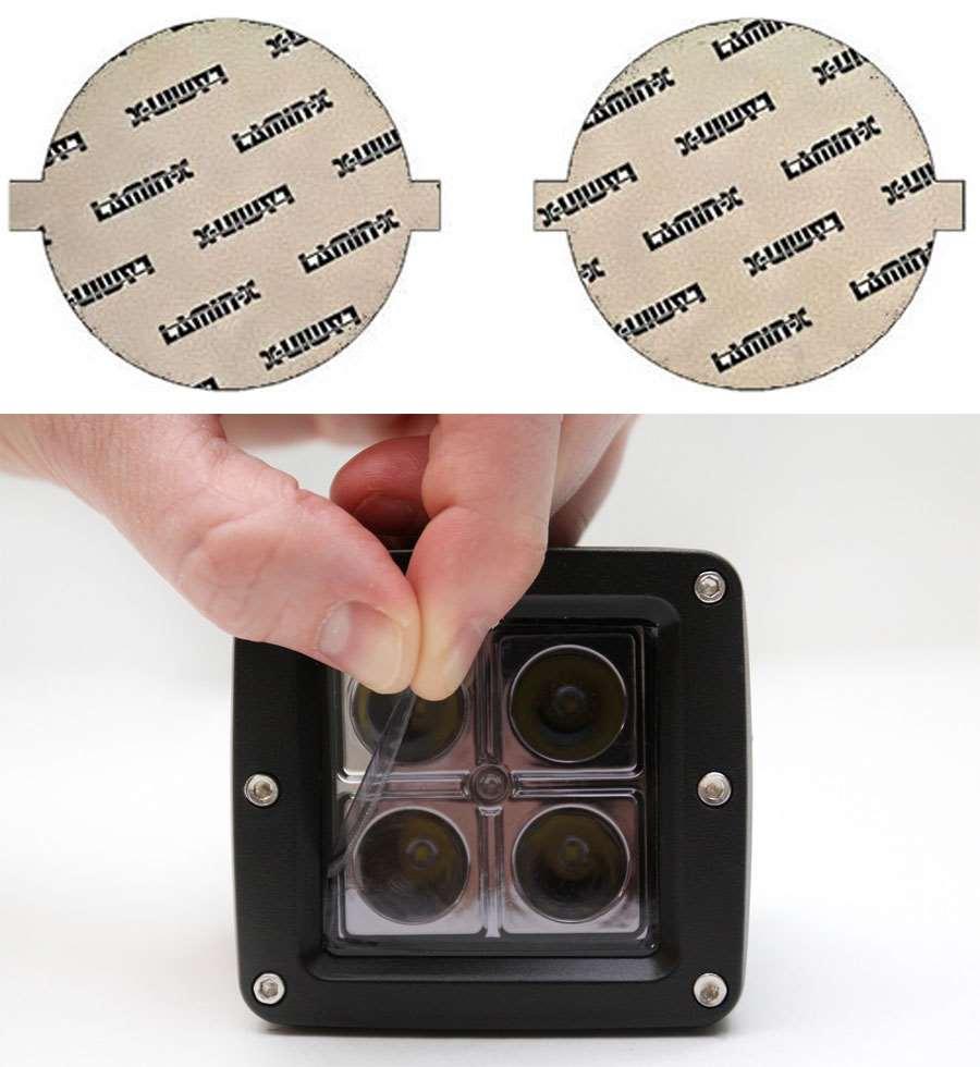 Kia Forte Koup 14-16 Tint Fog Light Covers Lamin-X K131T