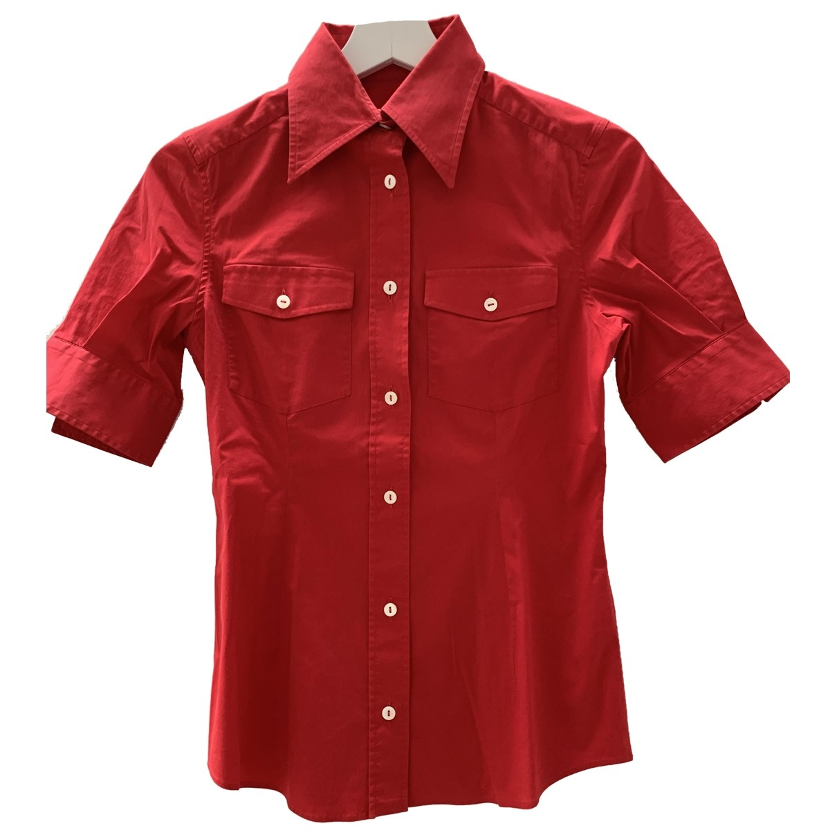 Dolce & Gabbana \N Red Cotton  top for Women 38 IT