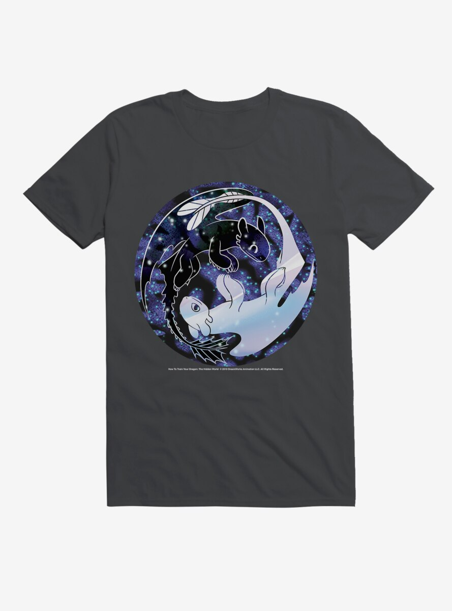 How To Train Your Dragon Night & Light Stars T-Shirt