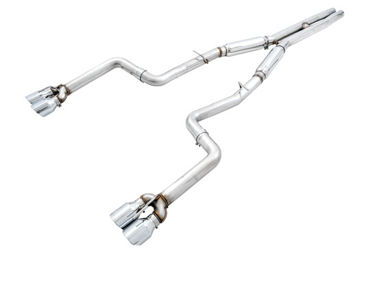 AWE Tuning 3015-11050 Track Edition Exhaust Stock Tips Dodge Challenger SC 6.4 2015-2021