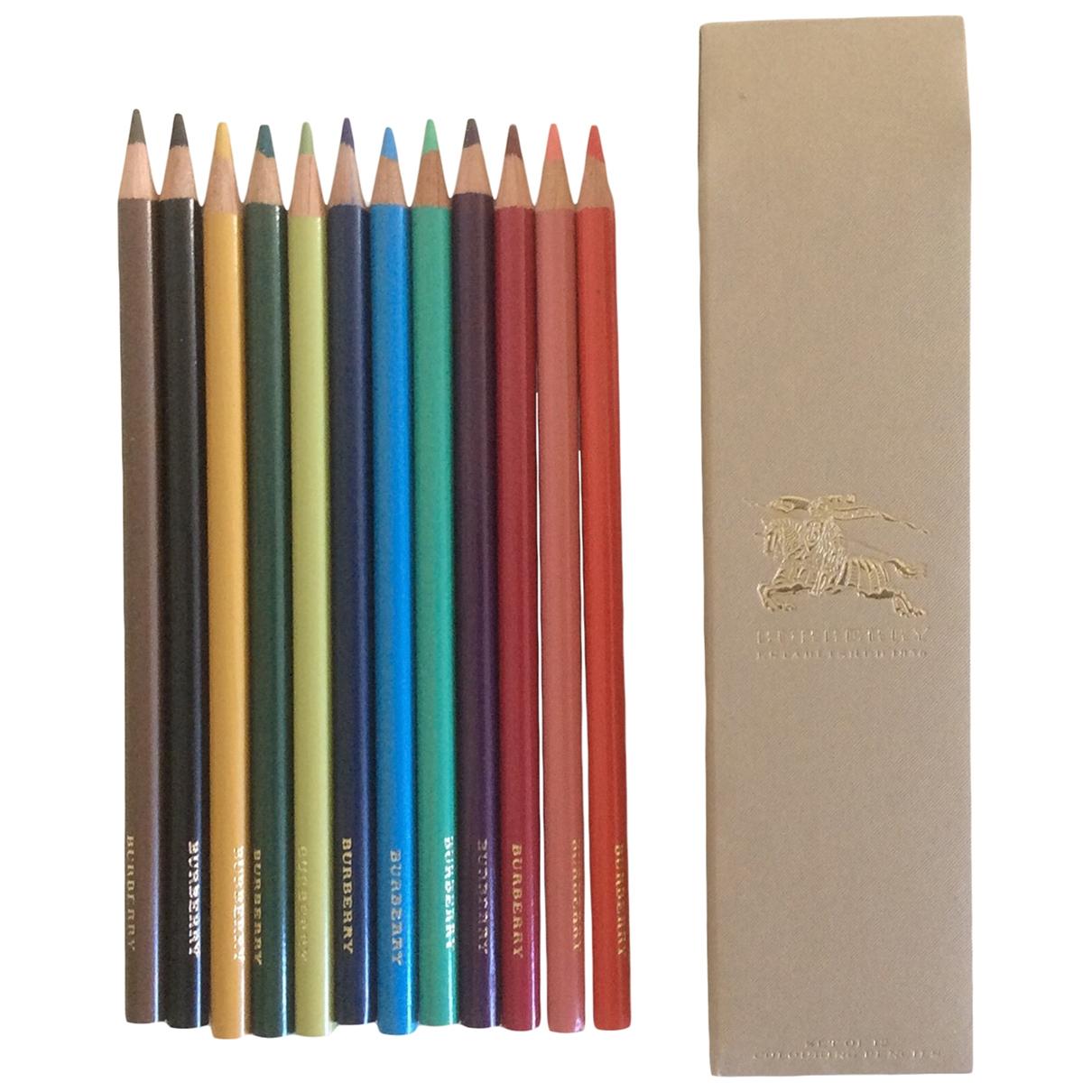 Burberry - Objets & Deco   pour lifestyle en bois - multicolore