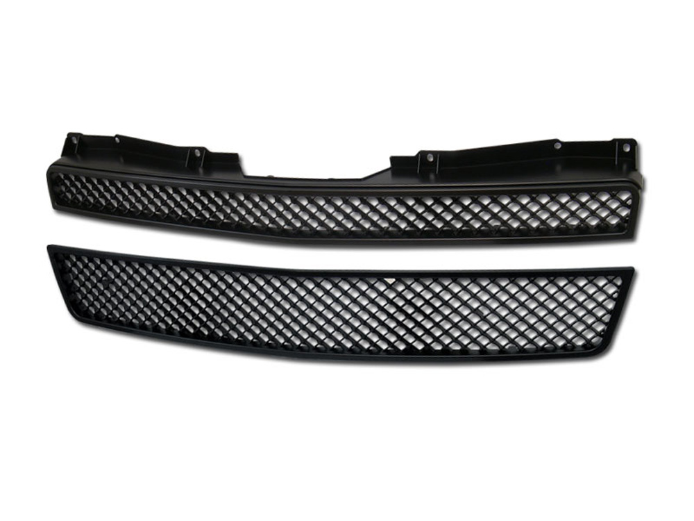 Armordillo 7147423 USA 2 Pieces Gloss Black Mesh Style Grille Chevrolet Tahoe 2007-2014