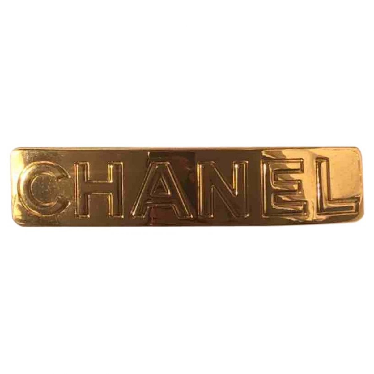 Chanel \N Haarschmuck in  Gold Vergoldet
