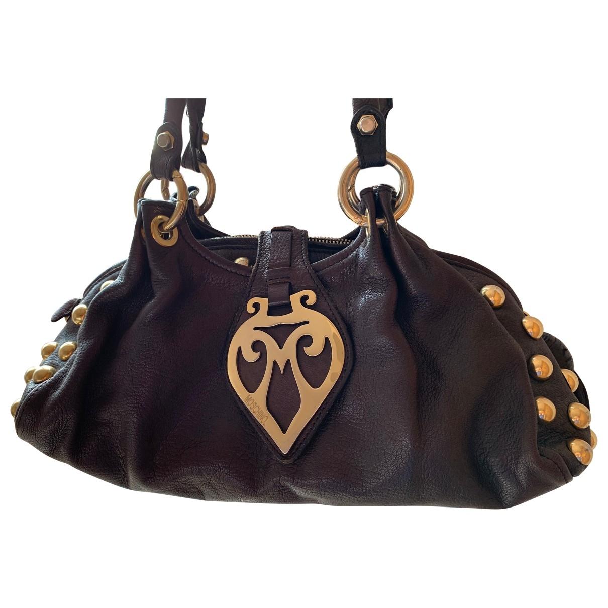 Moschino \N Brown Leather handbag for Women \N