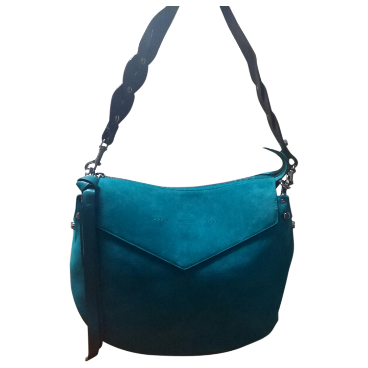 Jimmy Choo \N Turquoise Suede handbag for Women \N