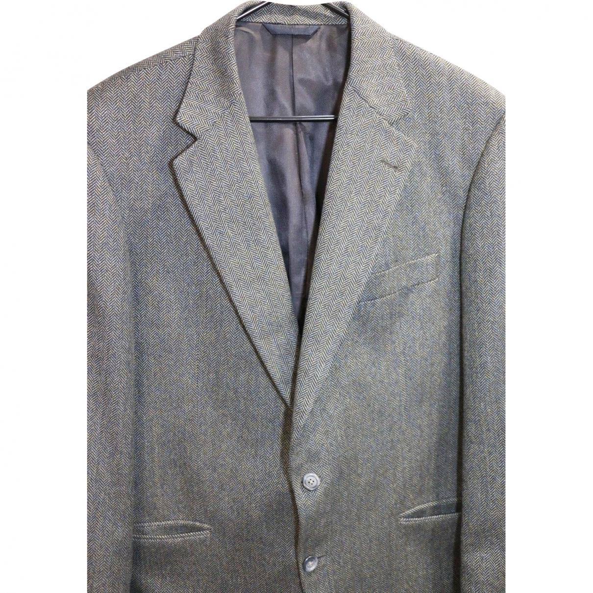 Burberry \N Grey Wool jacket  for Men 44 UK - US