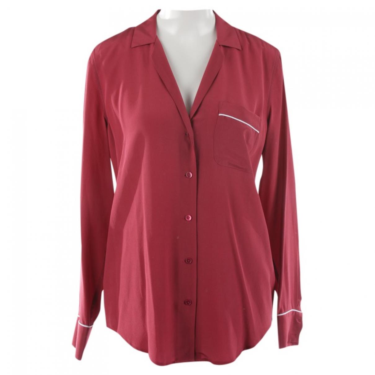 Equipment \N Pink Silk  top for Women S International