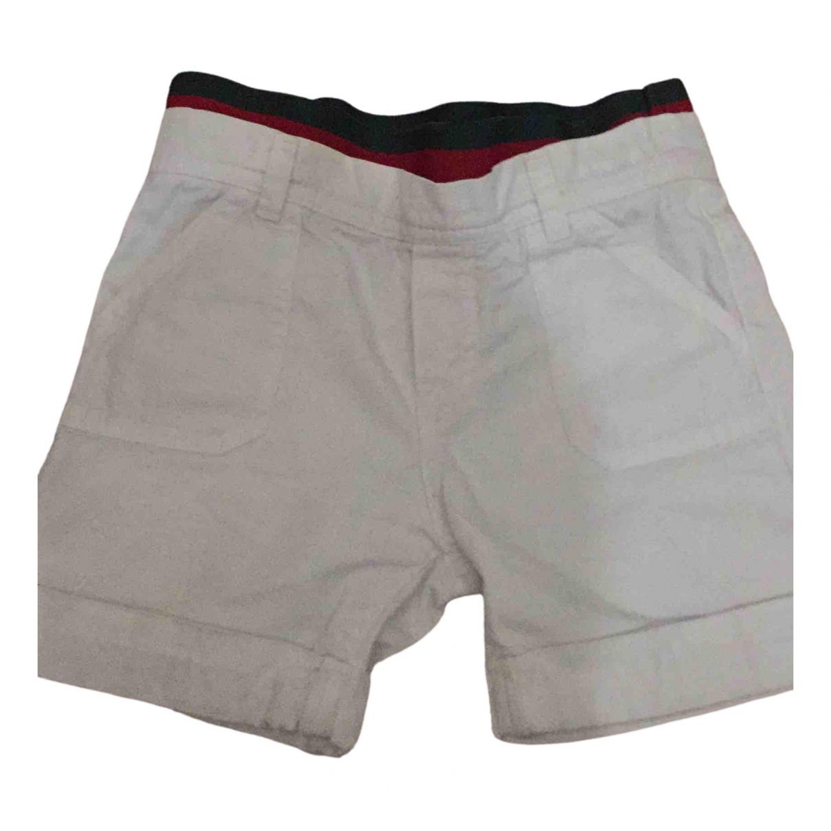 Gucci \N Shorts in  Weiss Baumwolle