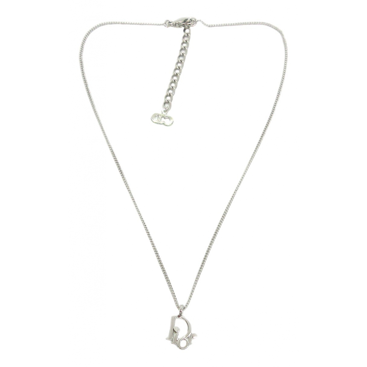Christian Dior \N Silver Metal necklace for Women \N