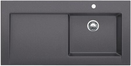 Performa 441476 Cascade Undermount Rectangular Super Single Sink Bowl  in