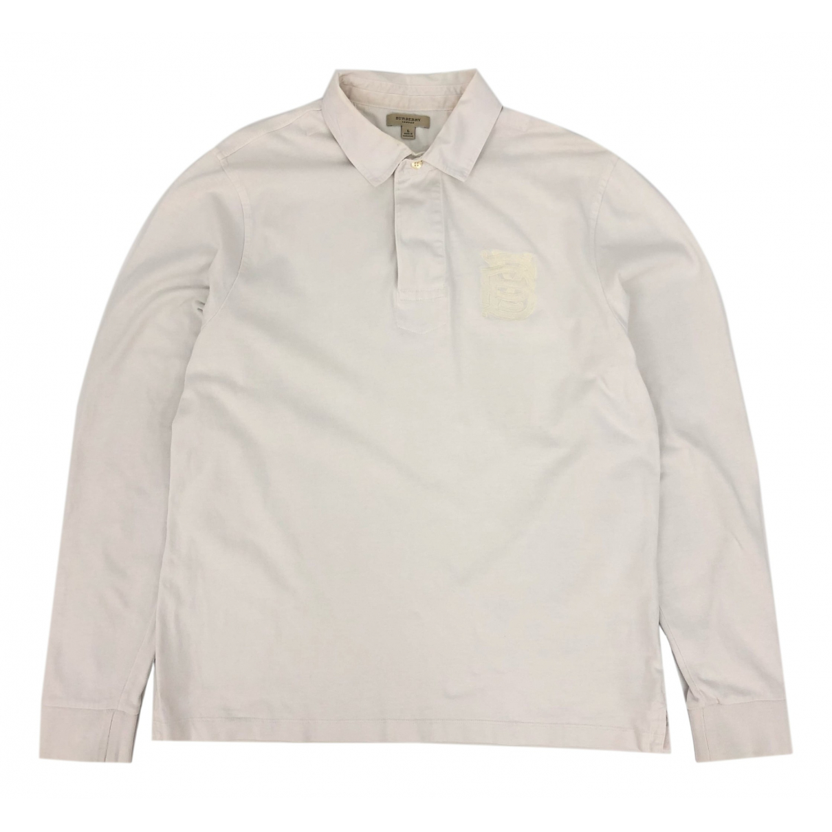 Burberry \N Poloshirts in  Weiss Baumwolle