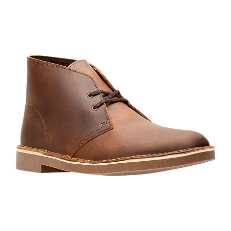 Clarks Mens Bushacre 2 Chukka Boots, 8 1/2 Medium, Brown
