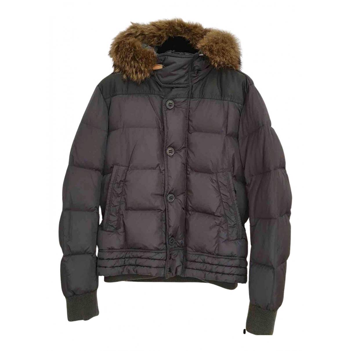 Moncler - Vestes.Blousons Fur Hood pour homme - gris