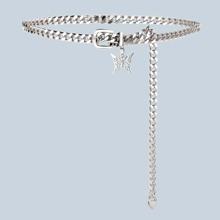 Butterfly Decor Chain Belt